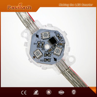 PanaTorch 30mm Diameter Led Point Light Source IP66 Waterproof PS-C153 SPI signal For construction outer lighting