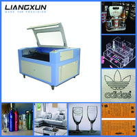 LX1390 optical lens laser cutter 100w for acrylic
