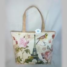Popular european tote bag cute tote bag for school girl