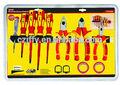 10 electrican piezas de herramientas de combinación set a258-9