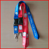 colorful sports lanyards with retractable lanyard reel