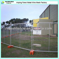 Temporary construction fence for building
