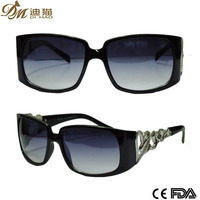 Small Rectangle Frame PC Sunglasses Outdoor Sports Eyewear Metal Hinges
