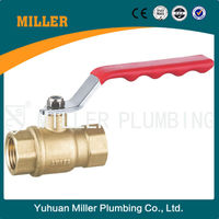 ML-2019 hydraulic control G Thread DN15 Brass Ball Valve