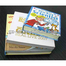 2012 offset book printing with high quality for hardcover books