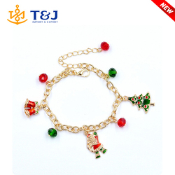 >>>>2015 Wholesale Top Selling High Quality Product For Woman Beautiful Christmas Old Man Alloy Bracelet/