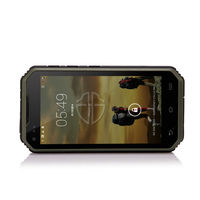 Best outdoor cell phone dual sim rugged military NFC 3g waterproof android phone