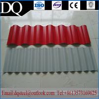 Corrugated/waved sherardize/Galvanized metal roofing sheet