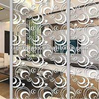 Titanium Glass/glass room dividers