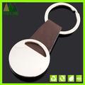 Llavero de cuero personalizados, metal llavero de cuero, negro de metal llavero, llaveros de cuero de metal