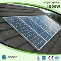 1500W 96v large quantity supplied Complete solar home station system manufacured in china factory supply