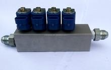 Alta calidad CNG inyector del carril para kit de conversión