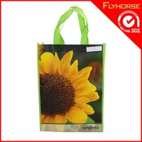 2015 Fashion reusable shopping bag,pp woven shopping