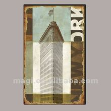 Building Design Large Decoration Canvas Wall Art