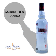 sales 750ml vodka with customized label vodka