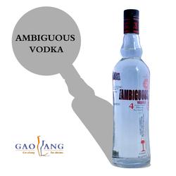 sales 750ml vodka with customized label vodka