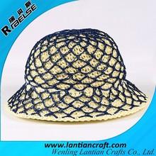 summer hat crochet free wholesale network coding straw hand hat