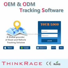Advance wireless car alarm cell phone tracking software for pc /gps tracking system by Thinkrace