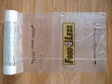 PLASTIC BAG/HDPE flat bags / freezer bags on roll