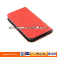 PU leather mobile phone cover new red design case for iphone 4s