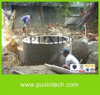 household product biodiesel plant small biogas plant for sale