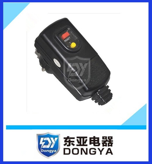PRCD protable safety leakage protect switch water heater plug