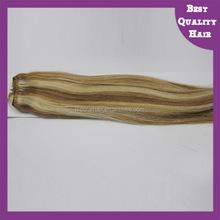 100% Brazilian Human Hair Flip In Hair Extension Fish Wire Hair Extension
