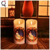 Decoration Use Flameless LED Flickering white different shapes scented electronic tealight Candles/