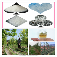 Water absorbing agent/Super absorbent polymer/Water gel for agriculture