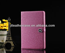 Basketball Lines Shining PU Back Cover For Ipad China Factory Leather Case For Ipad Stand Case