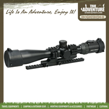 TA8-016 Wholesale 3-12X44 Tactical Rifle Scope Long Eye Hunting Equipment Night Vision rifleScope