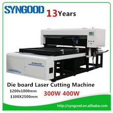 Laser Cutting Machine for Die wood 400W laser tube 18mm 22mm 23mm thickness