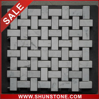 Marble Mosaic Tile; Grey and White Marble Mosaic; Bathroom Marble Mosaic.