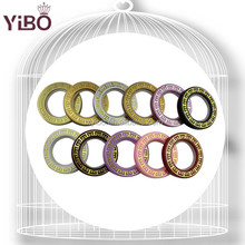 High quality curtain accessories plastic curtain ring plastic curtain eyelets ring