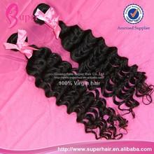 Brazilian hair weave wholesale manufacture, brazilian virgin deep wave hair, top grade brazilian hair