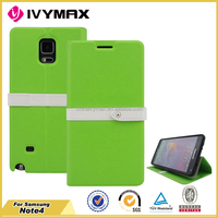 High quality wallet case for samsung Note 4 phone case wholesales