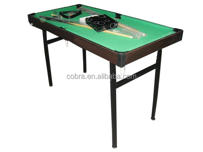 Kbl 8014 3 en 1 multi jeu de table pliable table de billard avec un chiffon - Taille billard snooker ...