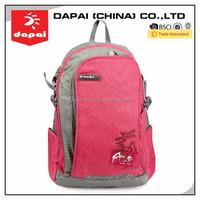 Girl School Bag Pink School Bag For High Class Student
