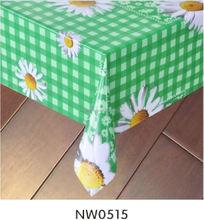 flexible clear pvc tablecloth