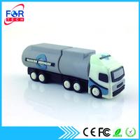 High Quality Custom PVC Truck Shape USB Flash Drive 16GB