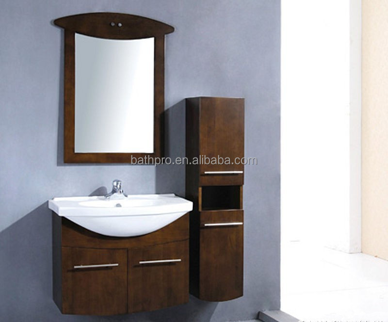 Wall mounted 2015 elegant euro style bathroom cabinet for European style bathroom