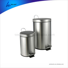Decorative Bulk Stainless Steel trashcan color coding