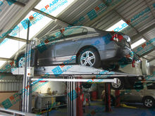 CE 2 post Mechanical Car Parking Lift