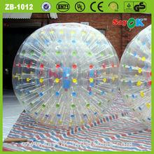 a terra do futebol infantil da água zorb bola inflável humanos utilizados balão zorb bola