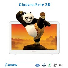 Glasses free 3D all-in-one open frame touch pc