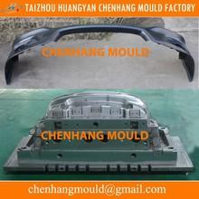 China manufacturers make plastic car bumper mould