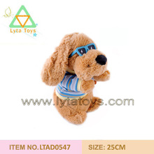 fantastic cute dog plush toy made in china with good quality
