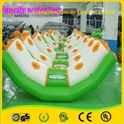 aqua water floating totter, inflatable totter in water for hot summer