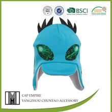BSCI Audit knit earflap hat with fleece lining