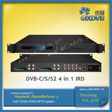DVB-C, T/T2, S/S2 4 in 1 ird multi channel tv tuner
